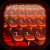 Fire Keyboard Theme