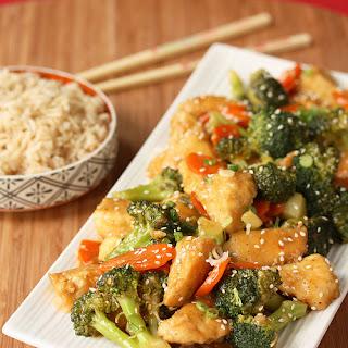 General Tso's Broccoli Chicken Stir Fry