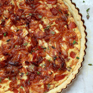 Bacon and Caramelized Onion Tart Recipe