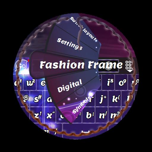 ファッションフレーム GO Keyboard 個人化 App LOGO-硬是要APP