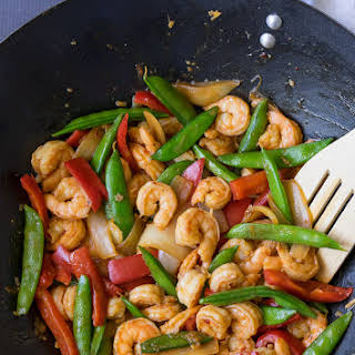 Chili Shrimp Stir Fry.