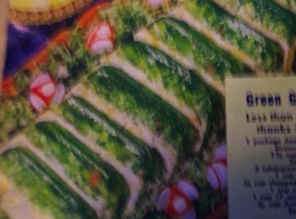 Pour boiling water on lime gelatin. STIR till dissolved. Add salt, vinegar, chopped celery  and chopped...