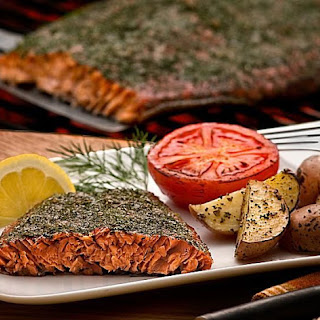 Caramelized Grilled Salmon.