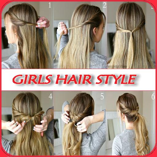 2020 Girls Hair Style Step By Step Mga App Sa Google Play
