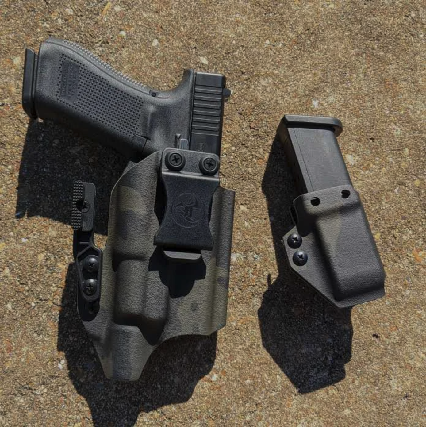 ANR IWB glock holster with mag carrier