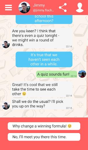 Hey Love Adam: Texting Game 1.91 screenshots 18