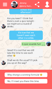 Hey Love Adam: Texting Game Screenshot