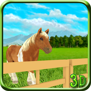 Pony Horse Simulator 3D Kids for PC and MAC