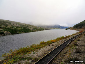 """Photo: Entering the """"Tortured Valley""""."""