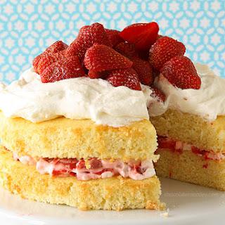 Layered Strawberry Shortcake.