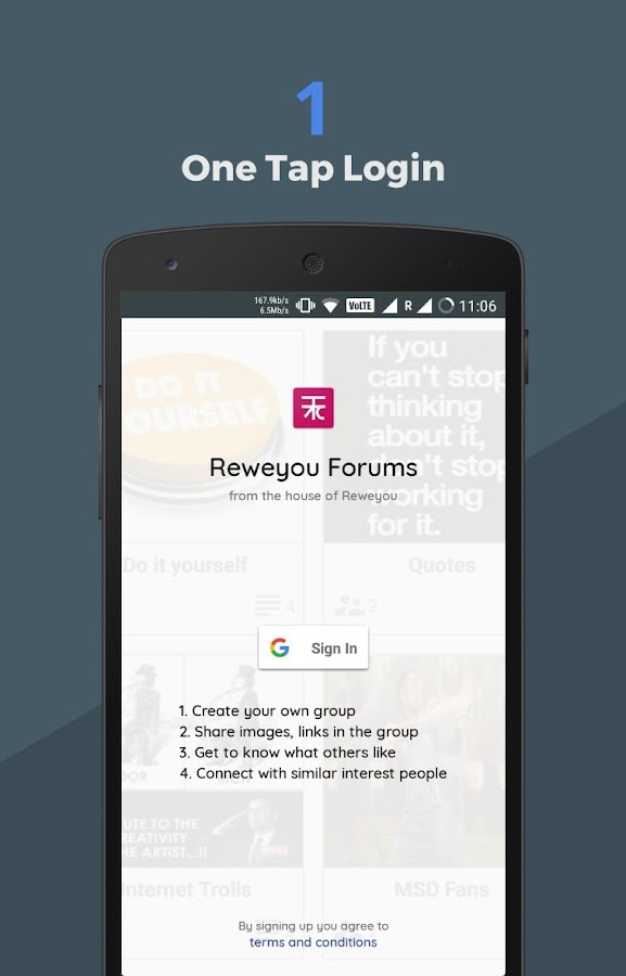 Reweyou Forums: Groups, Interests and Discussions- screenshot
