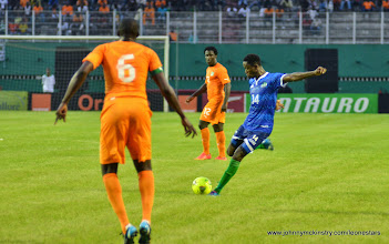 Photo: Khalifa Jabbie   [Leone Stars v Ivory Coast, 6 September 2014 (Pic © Darren McKinstry / www.johnnymckinstry.com)]