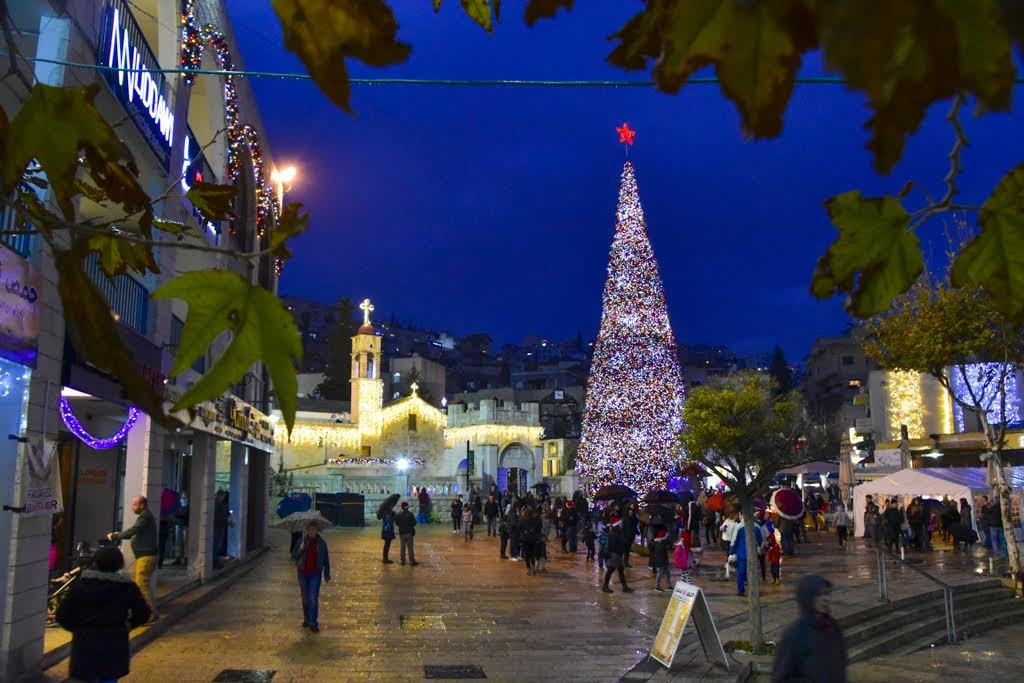 Новый год и Рождество на Святой Земле, Назарет