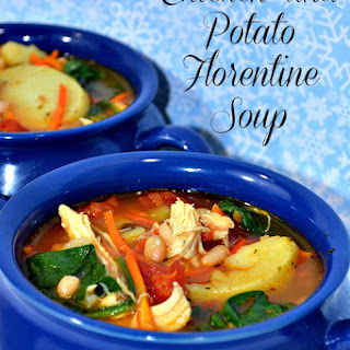 Chicken and Potato Florentine Soup