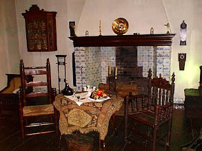 Photo: This is a room in 17th c. New Amsterdam. It look remarkably like the Dutch room in the Philadelphia museum.
