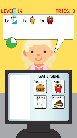 android Burger Cashier Screenshot 1