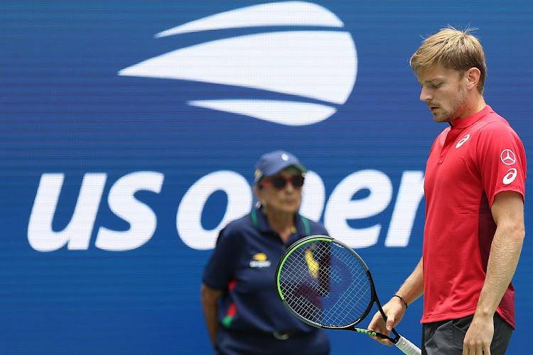 David Goffin loopt na winst in openingsset alsnog kwartfinales mis op US Open