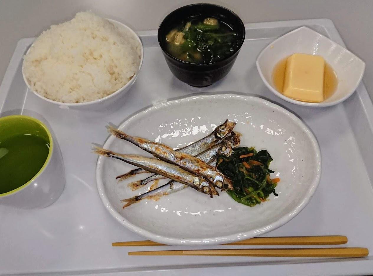 松風寮・朝食