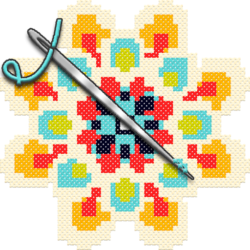 Adult Color By Number Book - Cross Stitch Mandala Android APK Download Free By Pixel ART - Coloring By Number Games Sandbox