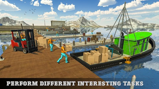 Modern City Cargo Transport Tycoon - náhled