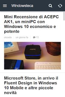 Windowsteca - náhled