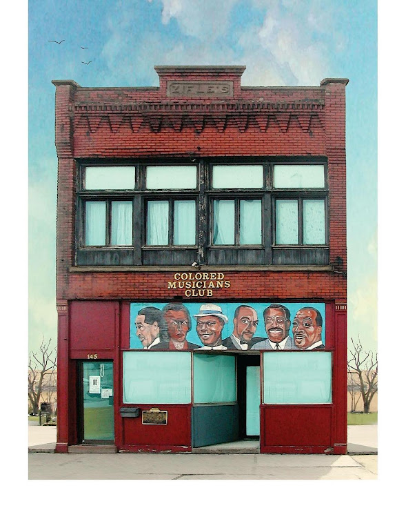 The front of the Colored Musicians Club. Photo: abuffalotreasure.