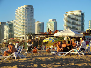 Photo: Later we moved to Punta del Este Playa #4, a totally different scene!