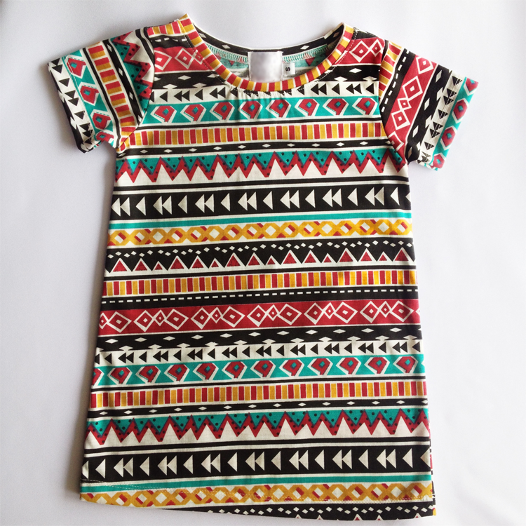 Little Tracy (Tribal print dress) by Precious Lullaby