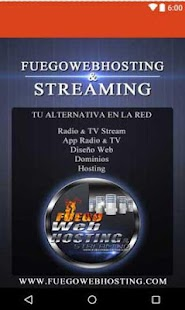 FuegoWebHosting- screenshot thumbnail