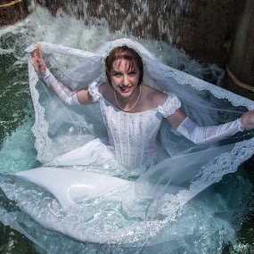 Amy 02 by Carter Keith - Wedding Bride ( rock the frock, wedding dresses, brides, wet brides, trash the dress,  )