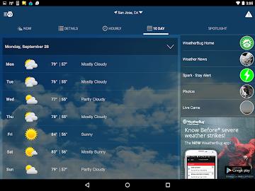 WeatherBug Screenshot 15