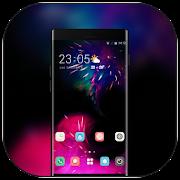 Theme for Mi 8 SE Fireworks romantic wallpaper icon