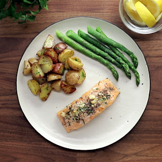 Garlic & Rosemary Baked Salmon Recipe