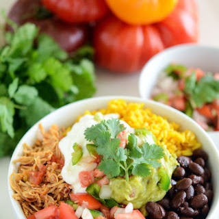 Salsa Chicken Bowl