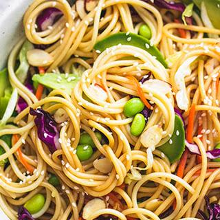 Sesame Soy Sauce Spaghetti Salad Recipes
