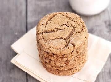 Civil War Ginger Spice Cookies
