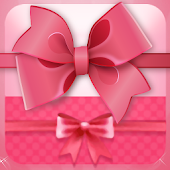 Cute pink bow theme