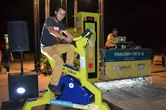 Photo: Toca pedalear más para cargar la batería