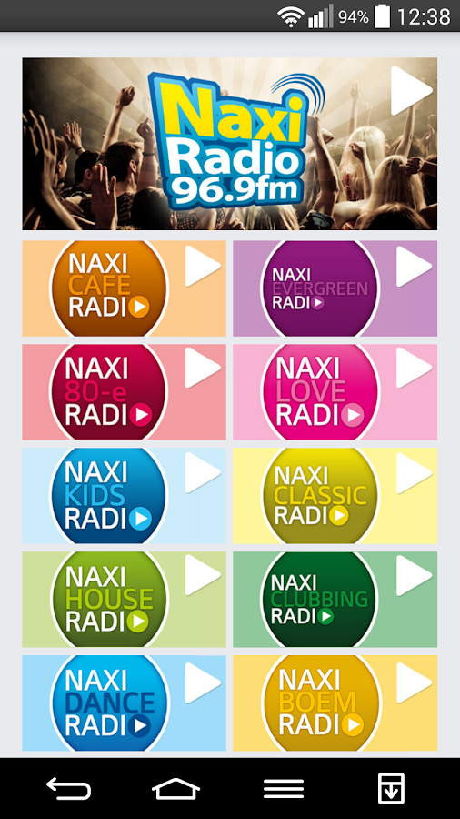 Naxi Radio- screenshot