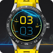 Sparking watch face