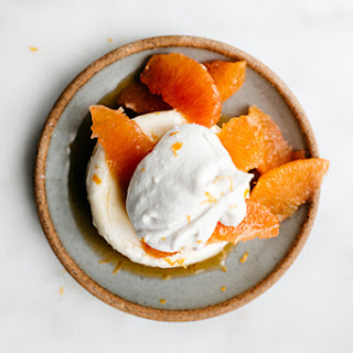 Orange Yogurt Pudding.
