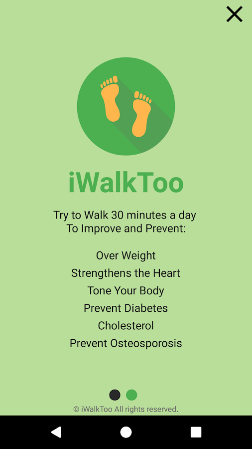 iWalkToo:Walk Tracker & Pedometer Walking Distance- screenshot