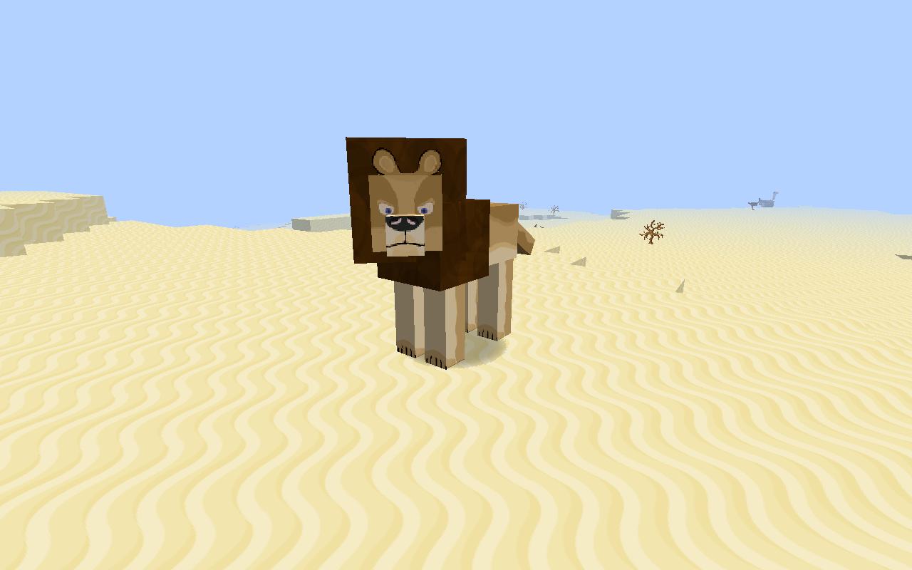 Minecraft Mo Creatures Big Cats Model