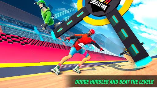 Sky Roller Skate Stunts Racing u2013 Impossible Tracks android2mod screenshots 21