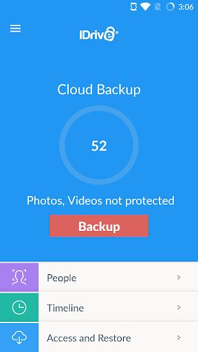 IDrive Online Backup 4.2.4 screenshots 1