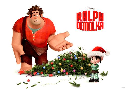Przód ulotki filmu 'Ralph Demolka'