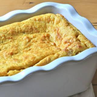 (Gluten-Free) Pumpkin Pie Spoon Bread.
