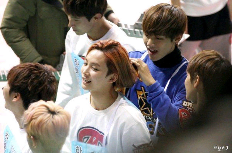 seventeen jeonghan long hair isac bts v taehyung 1