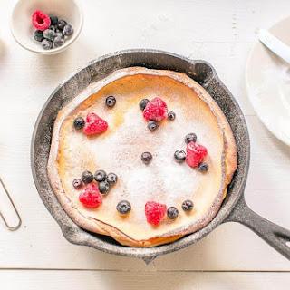 Sweet Dutch Baby Pancake Recipe