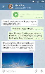 Telegram APK screenshot thumbnail 9